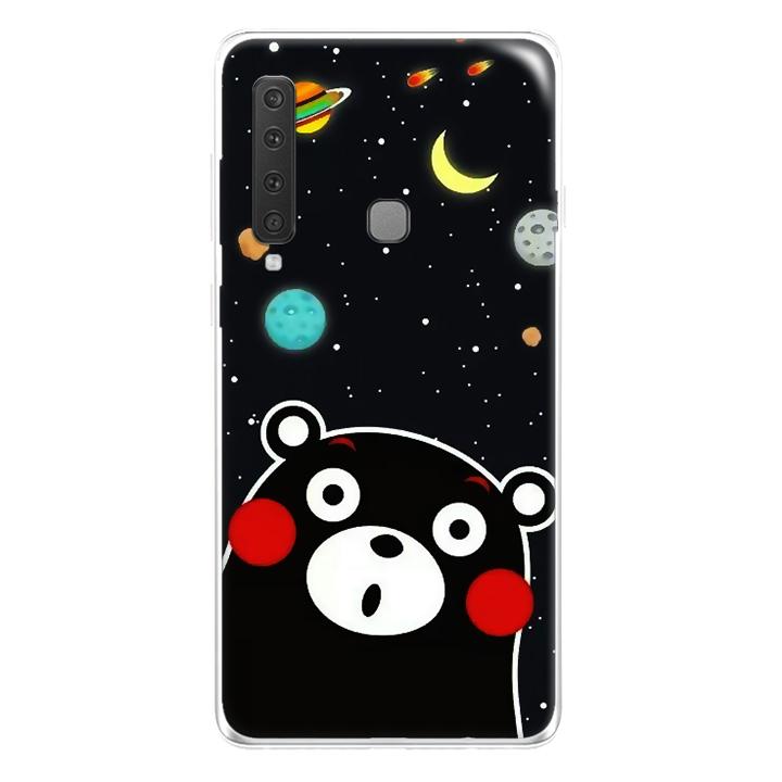 Ốp lưng dẻo Nettacase cho Samsung Galaxy A9 2018_0345 BEAR03 - Hàng Chính Hãng