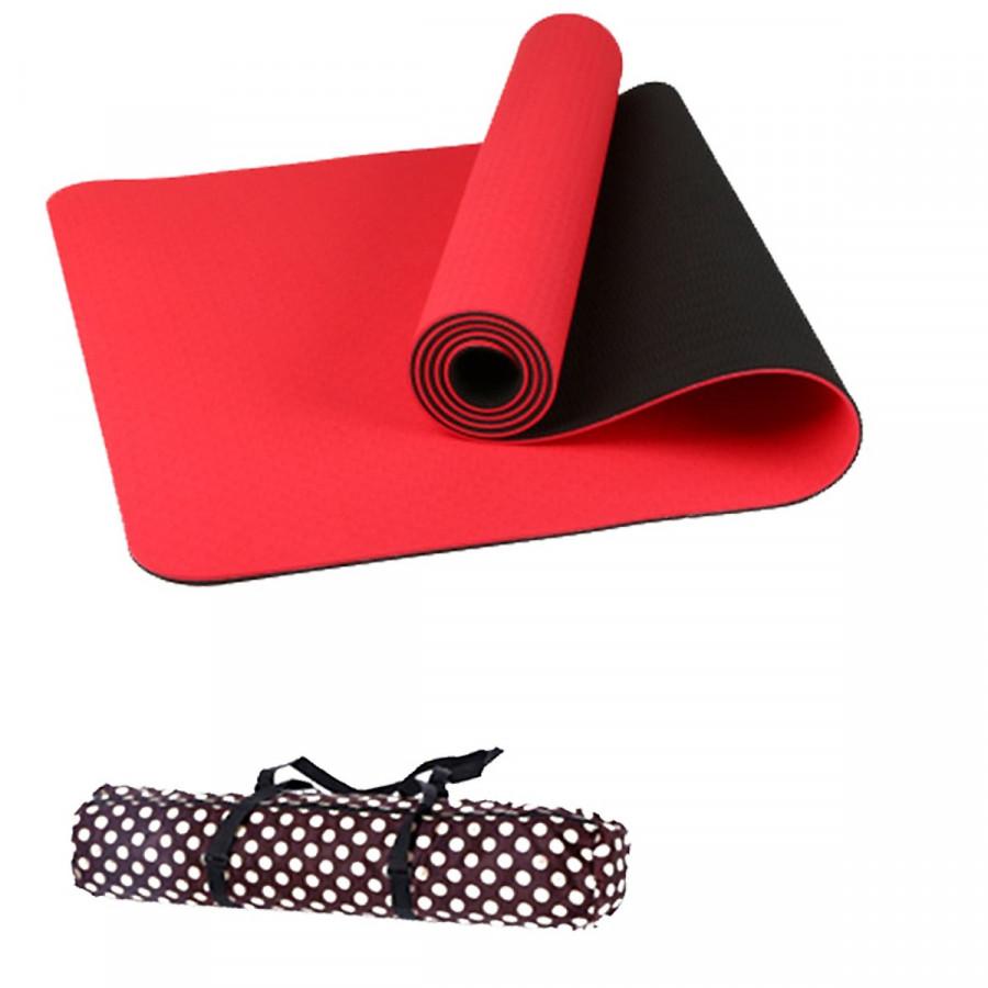 Thảm Tập Yoga Đài Loan TPE 6mm cao cấp + Túi đựng và dây buộc(màu tím,đỏ,cam,xanh lá, xanh dương) - 15979232 , 3060913418214 , 62_20713661 , 349000 , Tham-Tap-Yoga-Dai-Loan-TPE-6mm-cao-cap-Tui-dung-va-day-buocmau-timdocamxanh-la-xanh-duong-62_20713661 , tiki.vn , Thảm Tập Yoga Đài Loan TPE 6mm cao cấp + Túi đựng và dây buộc(màu tím,đỏ,cam,xanh lá,