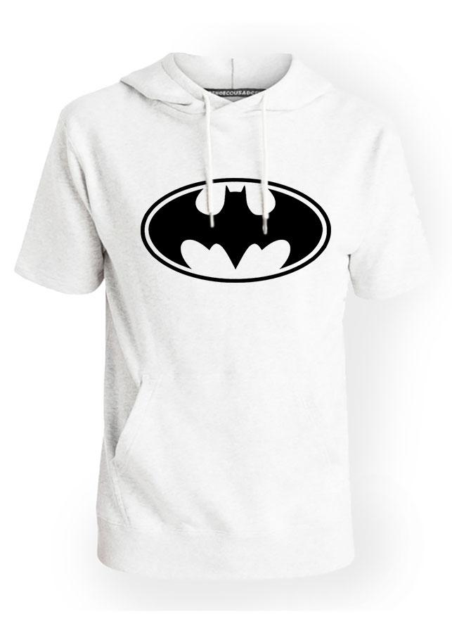 Áo Hoodie Tay Lỡ Có Mũ Batman Liên Minh Công Lý