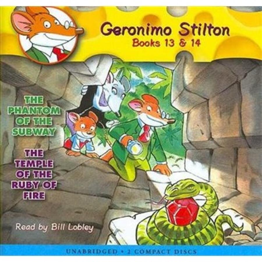 Geronimo Stilton #13-14   Audiobook CD - 1317794 , 8121547339278 , 62_5304849 , 514000 , Geronimo-Stilton-13-14-Audiobook-CD-62_5304849 , tiki.vn , Geronimo Stilton #13-14   Audiobook CD