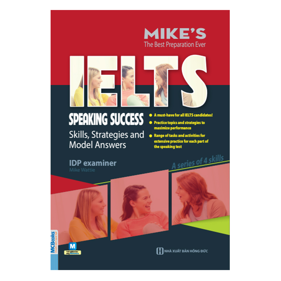 Ielts SpeakingSuccess: Skills Strategies and Model Answers (Bộ Sách Ielts Mike) - 1130518 , 7950740712783 , 62_9861227 , 125000 , Ielts-SpeakingSuccess-Skills-Strategies-and-Model-Answers-Bo-Sach-Ielts-Mike-62_9861227 , tiki.vn , Ielts SpeakingSuccess: Skills Strategies and Model Answers (Bộ Sách Ielts Mike)