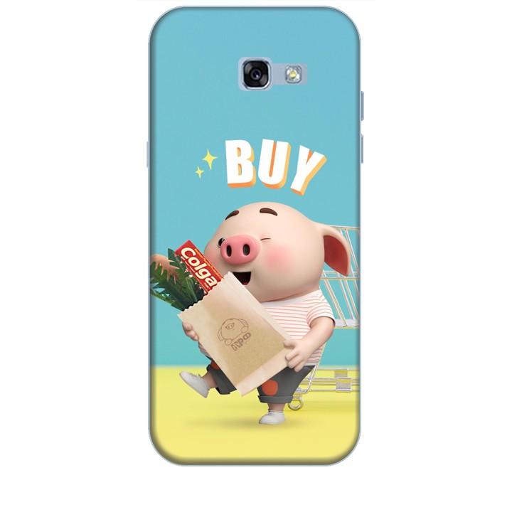 Ốp lưng dành cho điện thoại  SAMSUNG GALAXY A7 2017 Heo Con Mua Sắm