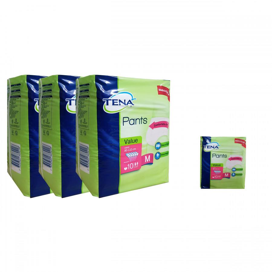 Combo 3 gói tã quần người lớn Tena Pants Value tặng 1 gói tã cùng loại - 750904 , 7171803267266 , 62_8343448 , 580000 , Combo-3-goi-ta-quan-nguoi-lon-Tena-Pants-Value-tang-1-goi-ta-cung-loai-62_8343448 , tiki.vn , Combo 3 gói tã quần người lớn Tena Pants Value tặng 1 gói tã cùng loại