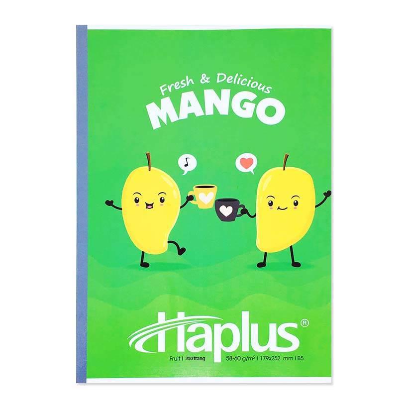 Vở kẻ ngang Haplus Fruit 120 trang (10 quyển/lốc)