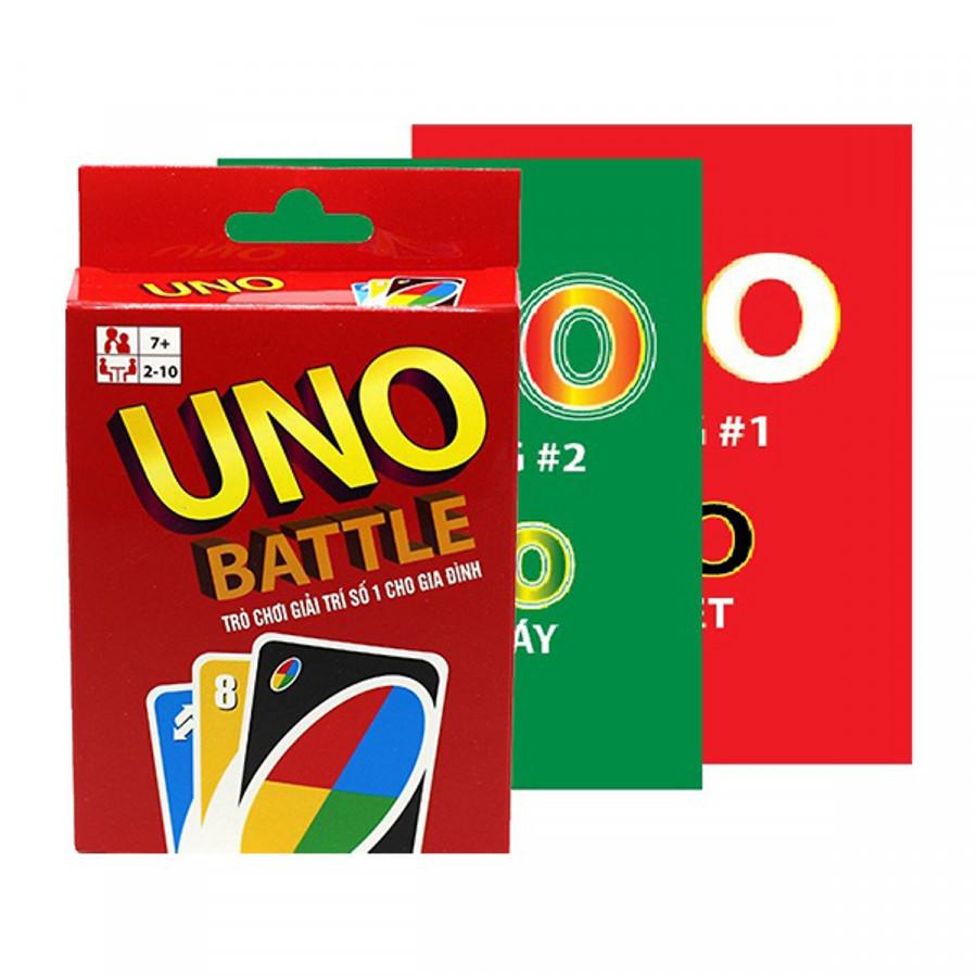 Combo Bài Uno Đại Chiến + 2 Bản Mở Rộng Boardgame
