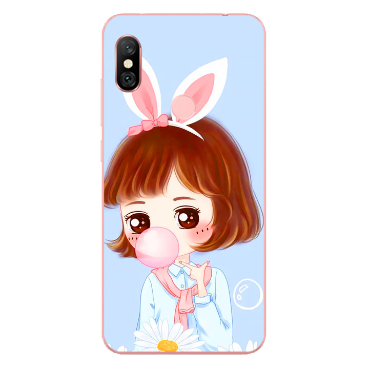 Ốp lưng dẻo cho điện thoại Xiaomi Redmi Note 6 Pro - Baby Girl 03