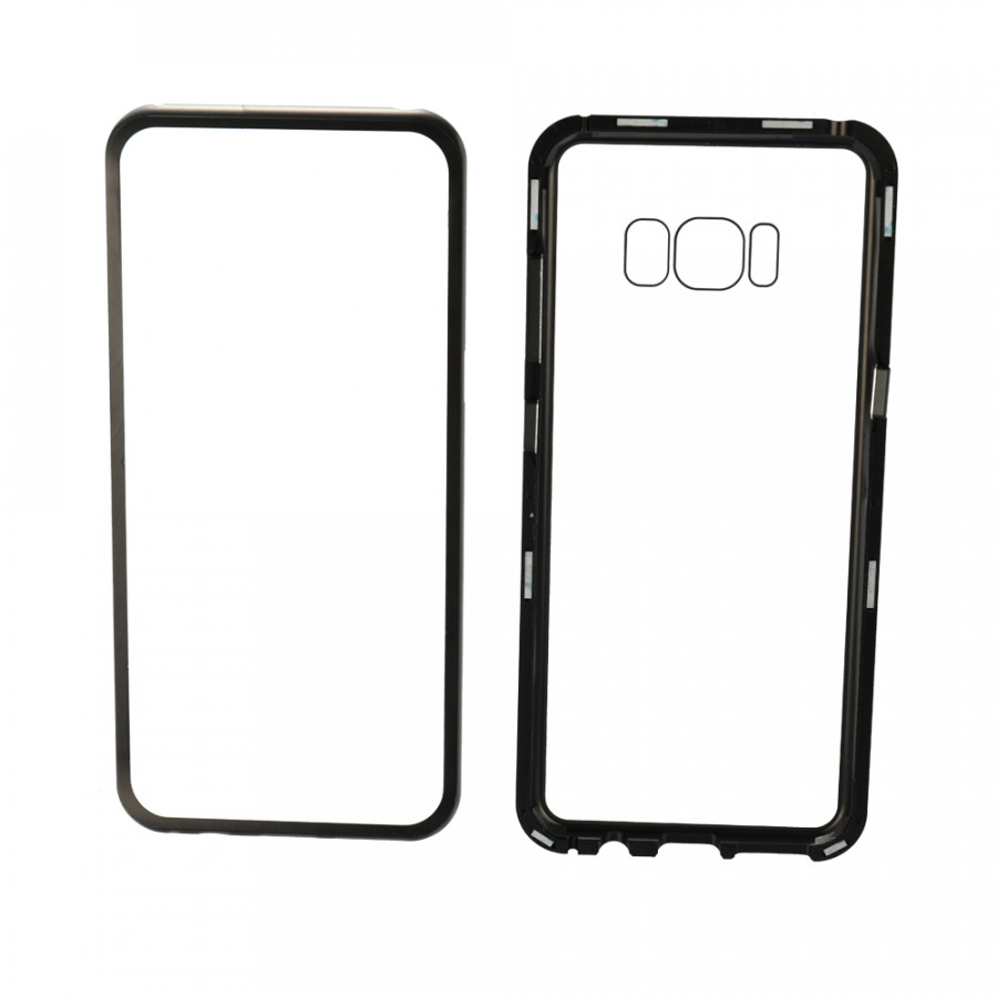 Metal-Rimmed Mobile Phone Case Hardened Glass Magnetic Adsorption Protection Smartphone Cover Bumper Luxury Aluminum - 1964674 , 1340174937092 , 62_14717992 , 311000 , Metal-Rimmed-Mobile-Phone-Case-Hardened-Glass-Magnetic-Adsorption-Protection-Smartphone-Cover-Bumper-Luxury-Aluminum-62_14717992 , tiki.vn , Metal-Rimmed Mobile Phone Case Hardened Glass Magnetic Adsorption