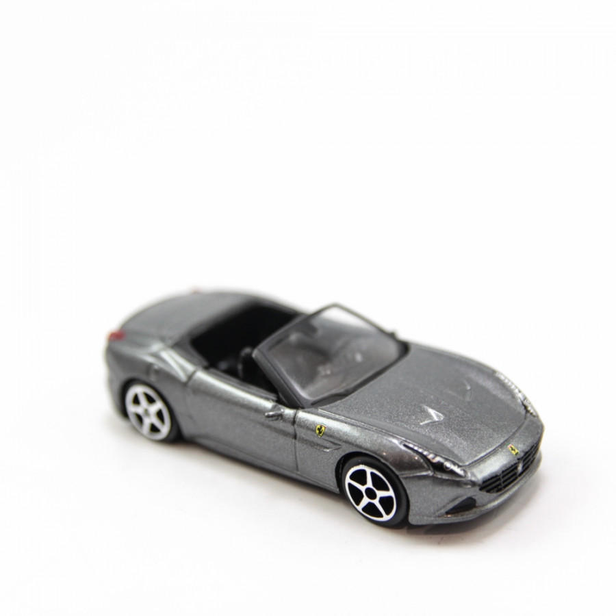 FERRARI CALIFORNIA T (OPEN TOP) GREY 1:64 BBURAGO