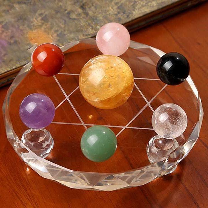 Bộ 7 quả cầu nhỏ: Thất Tinh Trận