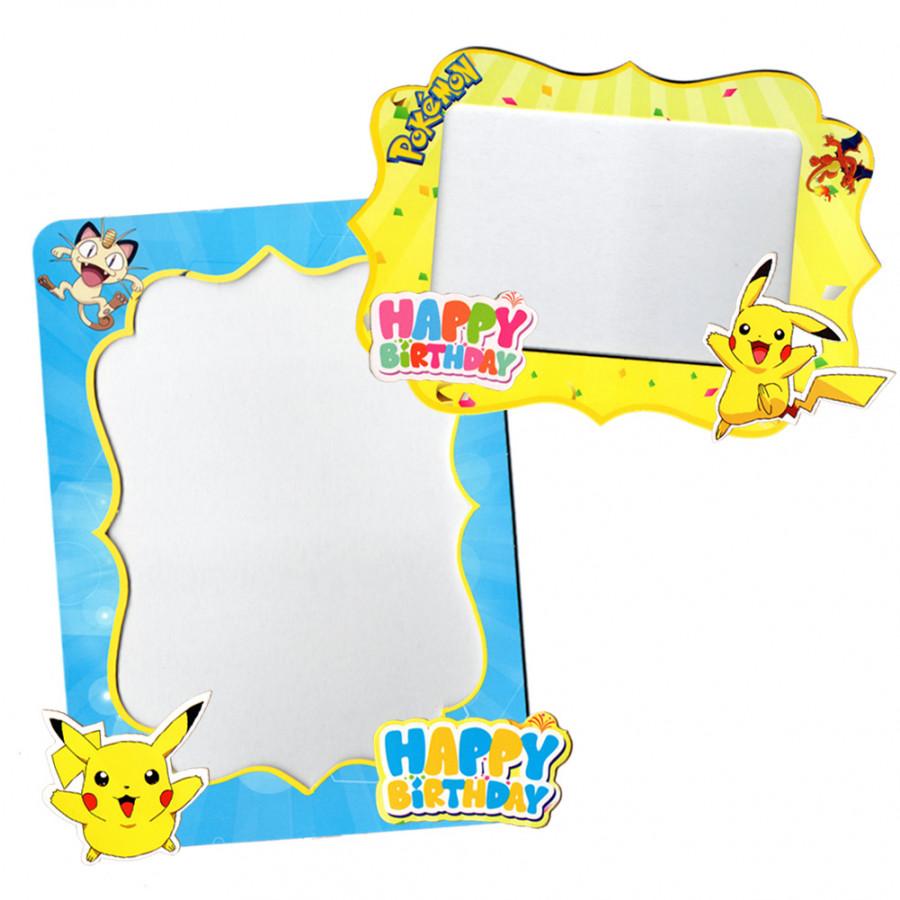 Combo 2 khung hình giấy để bàn trang trí sinh nhật - pokemon - 1593864 , 1761700118295 , 62_10674905 , 45000 , Combo-2-khung-hinh-giay-de-ban-trang-tri-sinh-nhat-pokemon-62_10674905 , tiki.vn , Combo 2 khung hình giấy để bàn trang trí sinh nhật - pokemon