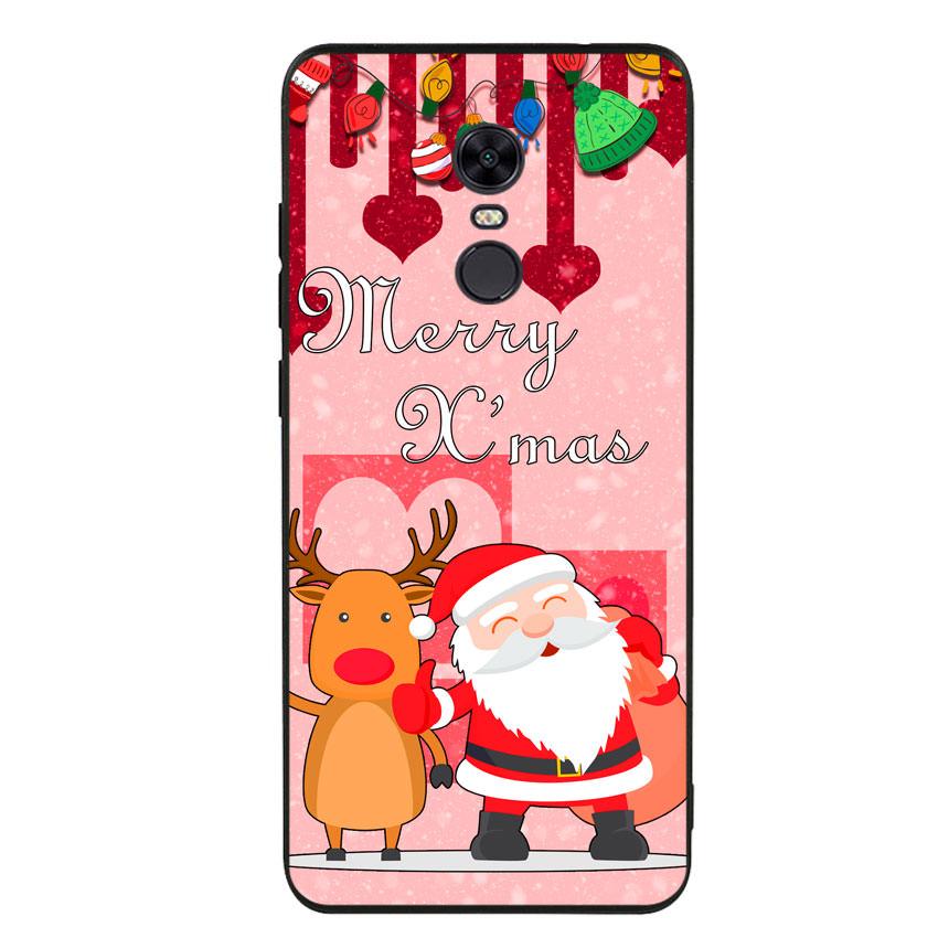 Ốp lưng viền TPU cho điện thoại Xiaomi Redmi 5 Plus - Xmas 04