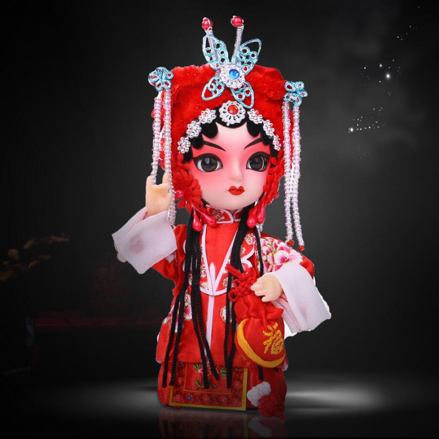 Con Rối Trang Trí Phong Cách Trung Quốc Weilong Peking