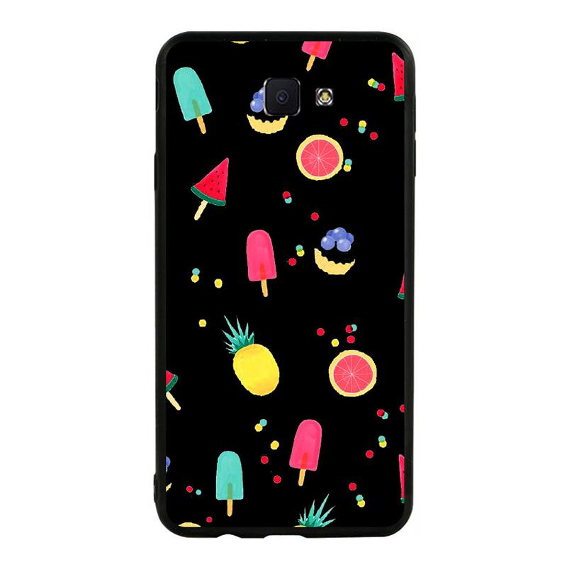 Ốp lưng nhựa cứng viền dẻo TPU Cho Samsung Galaxy J7 Prime - Summer 02