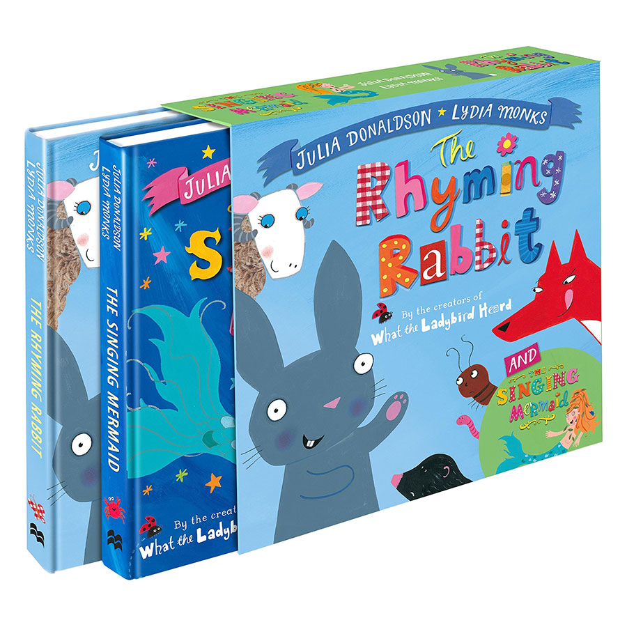 The Singing Mermaid And The Rhyming Rabbit Board Book Gift Slipcase - 1088485 , 7680258318671 , 62_3936379 , 396000 , The-Singing-Mermaid-And-The-Rhyming-Rabbit-Board-Book-Gift-Slipcase-62_3936379 , tiki.vn , The Singing Mermaid And The Rhyming Rabbit Board Book Gift Slipcase
