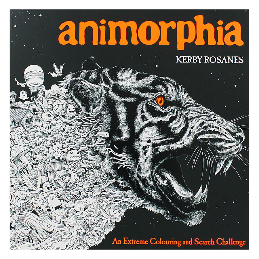 Animorphia  An Extreme Coloring and Search Chall