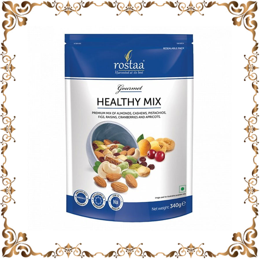 Trái Cây sấy khô nhập khẩu Healthy Mix 340gr