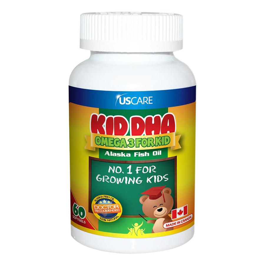 Thực Phẩm Chức Năng Bổ Sung Omega 3 Cho Trẻ Em KID DHA Viva Pharmaceutical (60 Viên) - 1035486 , 7929326960139 , 62_3223793 , 199000 , Thuc-Pham-Chuc-Nang-Bo-Sung-Omega-3-Cho-Tre-Em-KID-DHA-Viva-Pharmaceutical-60-Vien-62_3223793 , tiki.vn , Thực Phẩm Chức Năng Bổ Sung Omega 3 Cho Trẻ Em KID DHA Viva Pharmaceutical (60 Viên)