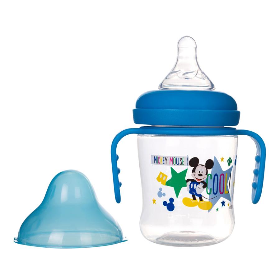 Bình Sữa Cổ Rộng Có Tay Cầm Disney Baby DN80132 - 250ml / 8oz - 9498272 , 3459274049777 , 62_17899642 , 84000 , Binh-Sua-Co-Rong-Co-Tay-Cam-Disney-Baby-DN80132-250ml--8oz-62_17899642 , tiki.vn , Bình Sữa Cổ Rộng Có Tay Cầm Disney Baby DN80132 - 250ml / 8oz