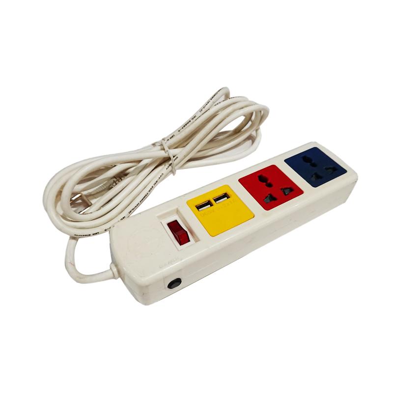 Ổ cắm kéo dài đa năng có cổng sạc USB 5V-1A 3D32**USB LiOA - 2019494 , 9068817425165 , 62_10686549 , 262000 , O-cam-keo-dai-da-nang-co-cong-sac-USB-5V-1A-3D32USB-LiOA-62_10686549 , tiki.vn , Ổ cắm kéo dài đa năng có cổng sạc USB 5V-1A 3D32**USB LiOA