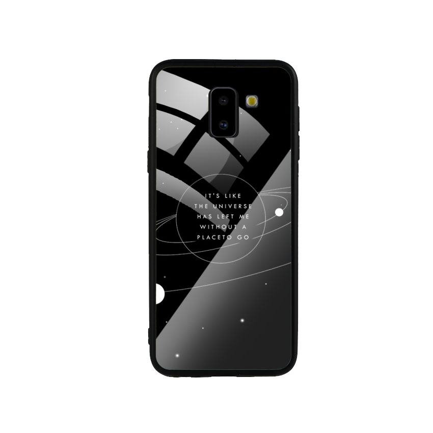 Ốp Lưng Kính Cường Lực cho điện thoại Samsung Galaxy J6 2018 - Alone 02