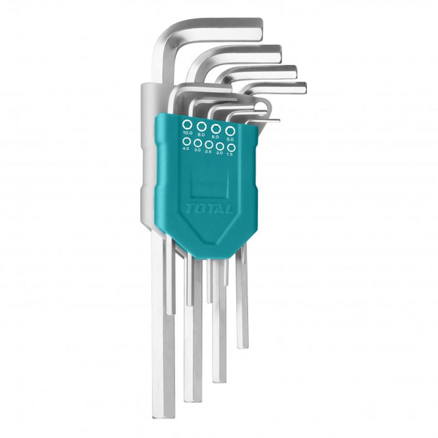 Bộ khóa lục giác (1.5-10mm)  Total THT106192 - 1251123 , 2946604860375 , 62_6480223 , 205000 , Bo-khoa-luc-giac-1.5-10mm-Total-THT106192-62_6480223 , tiki.vn , Bộ khóa lục giác (1.5-10mm)  Total THT106192