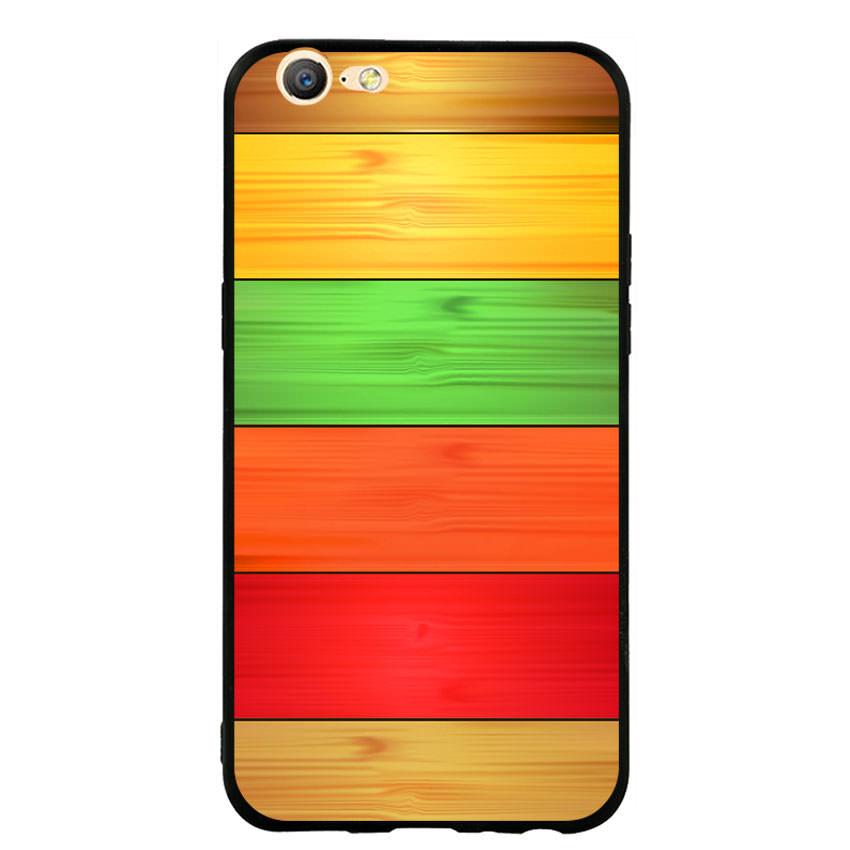 Ốp lưng nhựa cứng viền dẻo TPU cho điện thoại Oppo F3 Lite (A57) - Sắc Màu