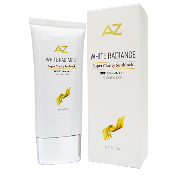 Kem Chống Nắng Sáng Da CC Cream AZ White Sunblock SPF 50 - PA +++ 50ml
