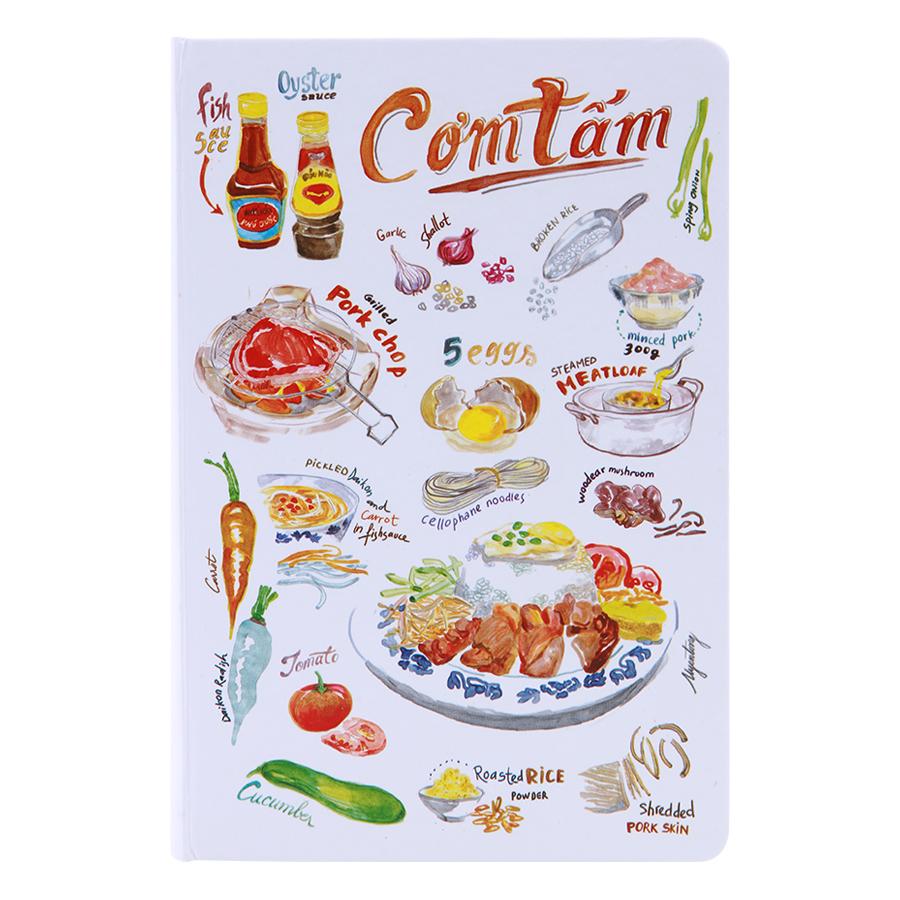 Sổ Tay Tasteful Việt Nam (S) - Cơm Tấm (100 Trang)