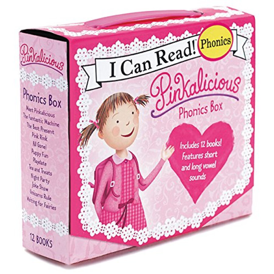 Pinkalicious Phonics Box Set
