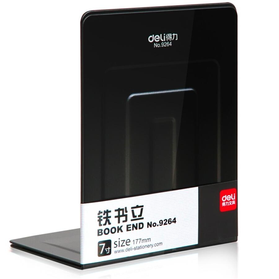Effective (deli) 9264 iron book (7 inch) 2 / pay black