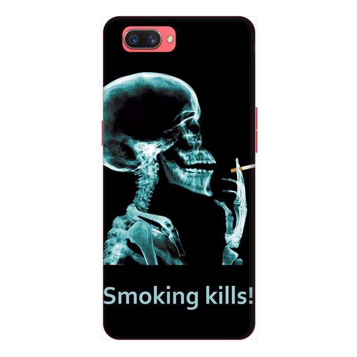 Ốp lưng điện thoại Realme C1 hình Smoking Kills