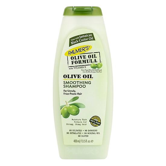 Dầu gội dưỡng tóc Olive Oil Formular Smoothing Shampoo - Palmer