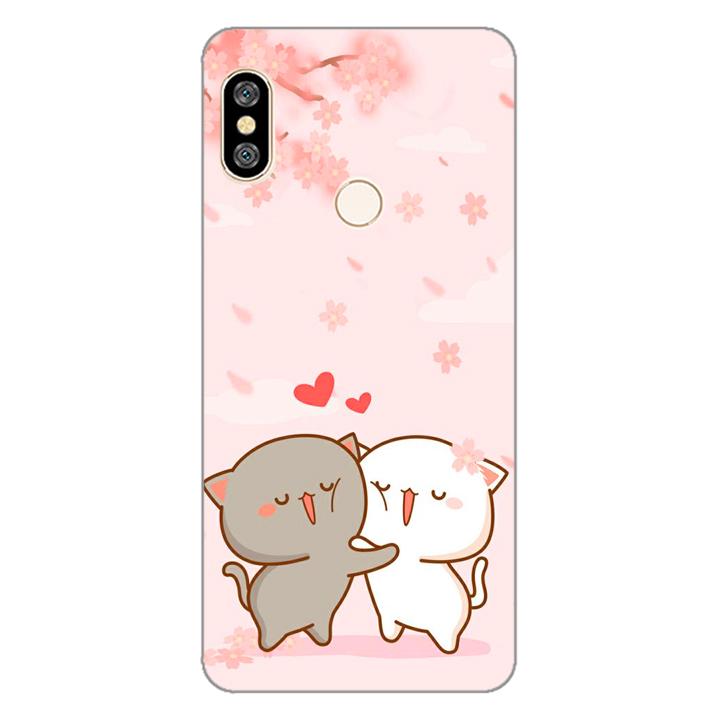 Ốp lưng dẻo cho điện thoại Xiaomi Redmi Note 5_0509 LOVELY05 - Hàng Chính Hãng