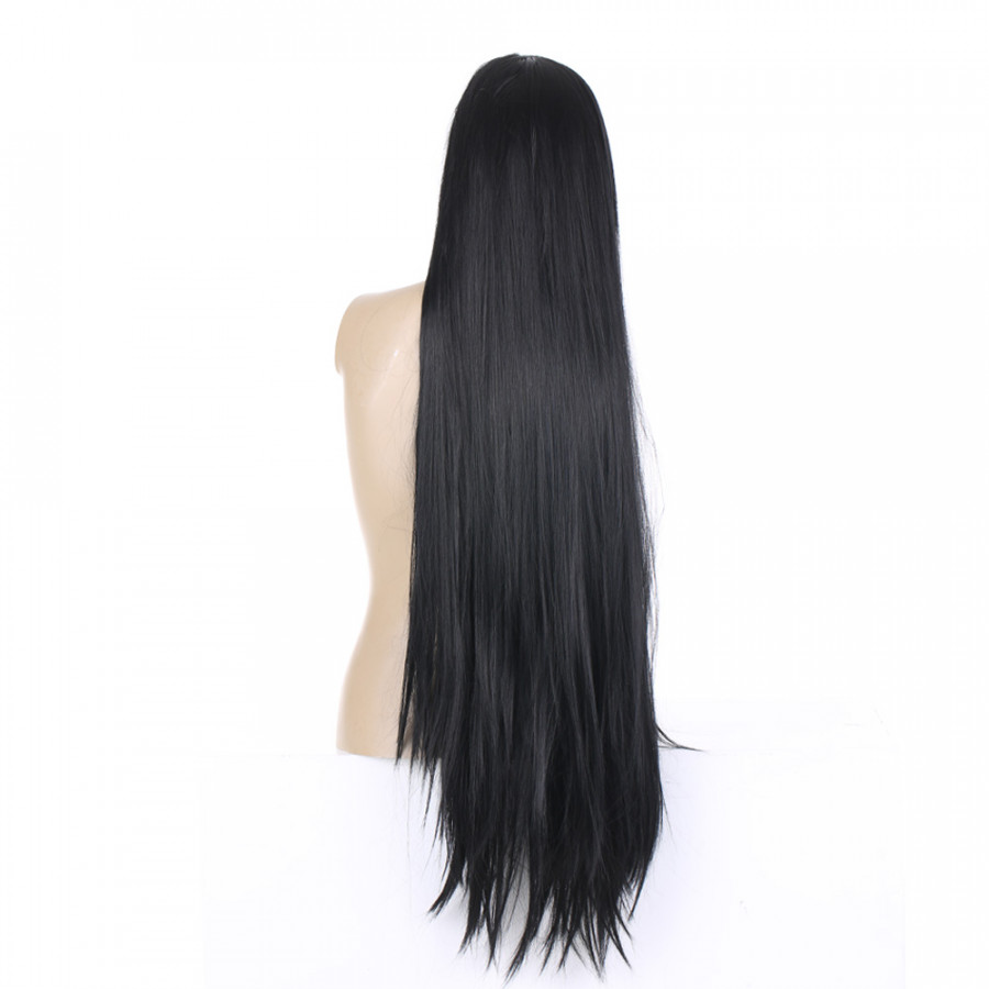 Women Fashion Black Long Straight Hair Wigs Natural Color Wig 1M Length with Hair Net - 2237073 , 2401530596052 , 62_14360847 , 282000 , Women-Fashion-Black-Long-Straight-Hair-Wigs-Natural-Color-Wig-1M-Length-with-Hair-Net-62_14360847 , tiki.vn , Women Fashion Black Long Straight Hair Wigs Natural Color Wig 1M Length with Hair Net