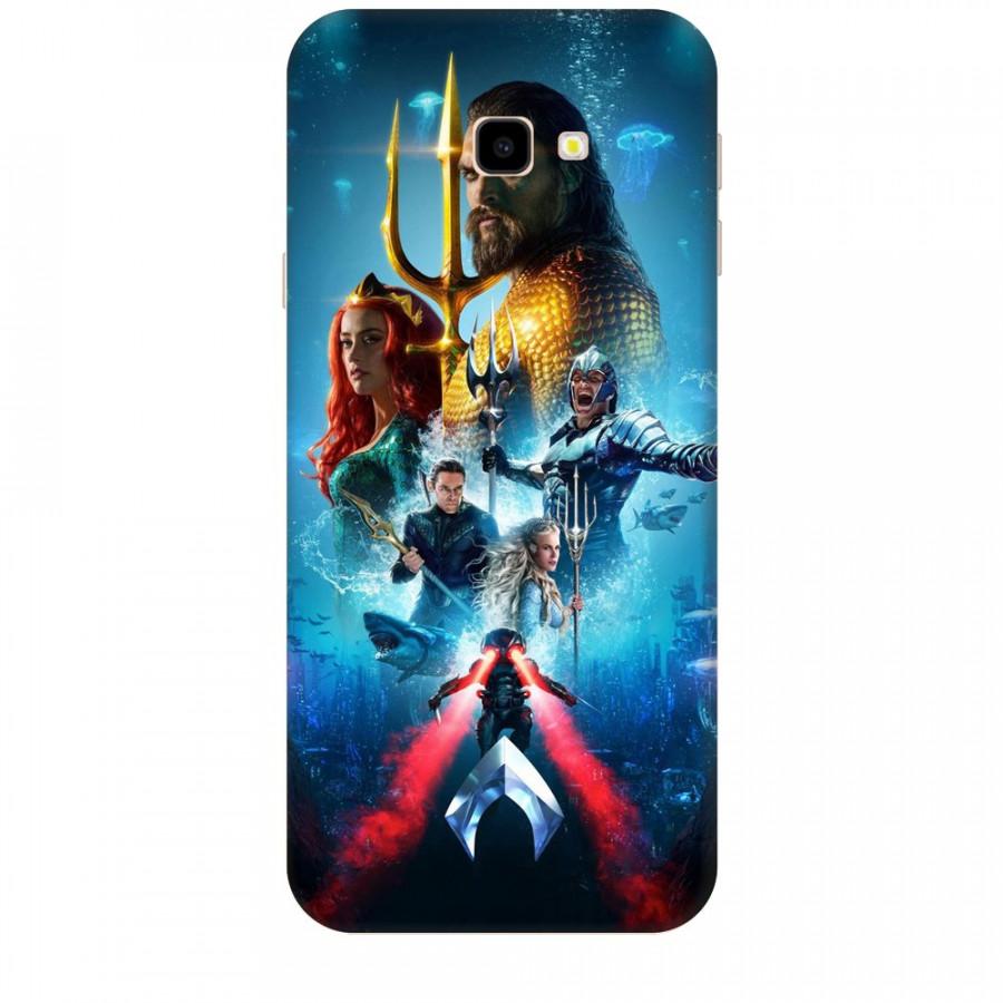 Ốp Lưng Dành Cho Điện Thoại  Samsung Galaxy J4 Plus Aquaman Mẫu 1