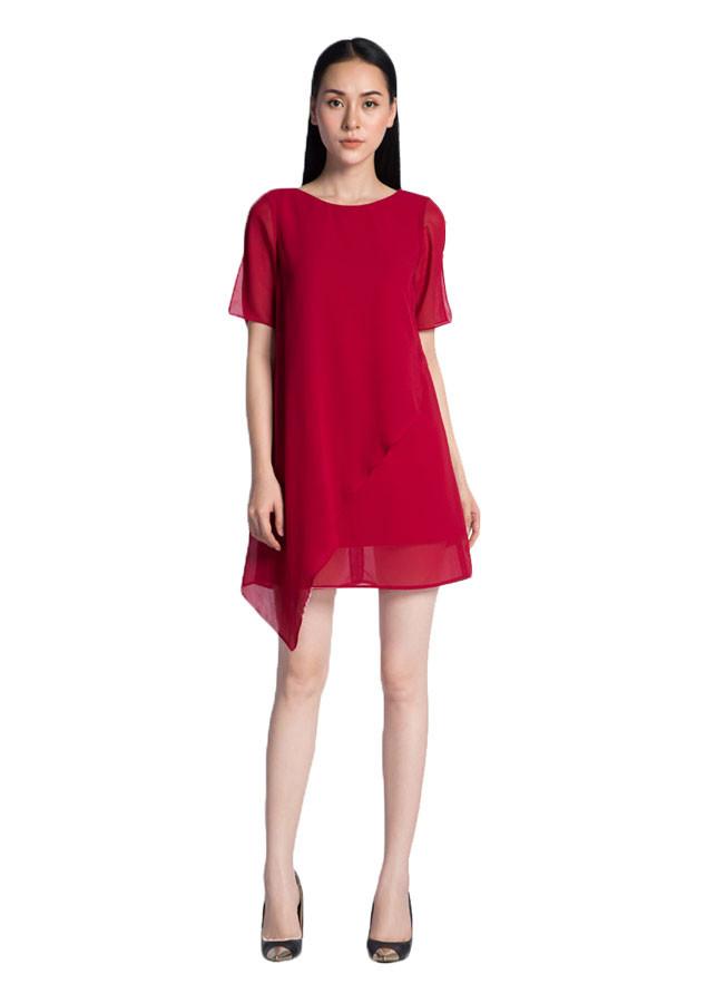 Váy Suông Vạt Xéo AY1017DO - Đỏ - 1058827 , 3621878989074 , 62_6502765 , 699000 , Vay-Suong-Vat-Xeo-AY1017DO-Do-62_6502765 , tiki.vn , Váy Suông Vạt Xéo AY1017DO - Đỏ