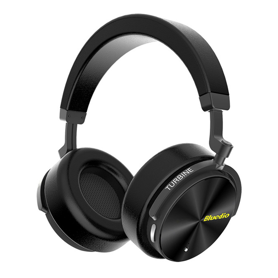 Bluedio T5 Active Noise Cancelling Wireless Bluetooth Headphones Over Ear Portable Stereo Bass Headsets ANC Earphone