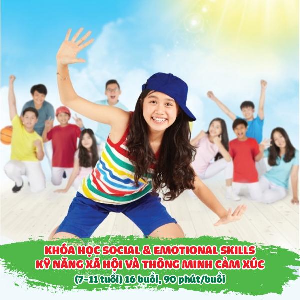 Khóa học Social  Emotional Skills – Kỹ năng xã hội và thông minh cảm xúc (7-11 tuổi)