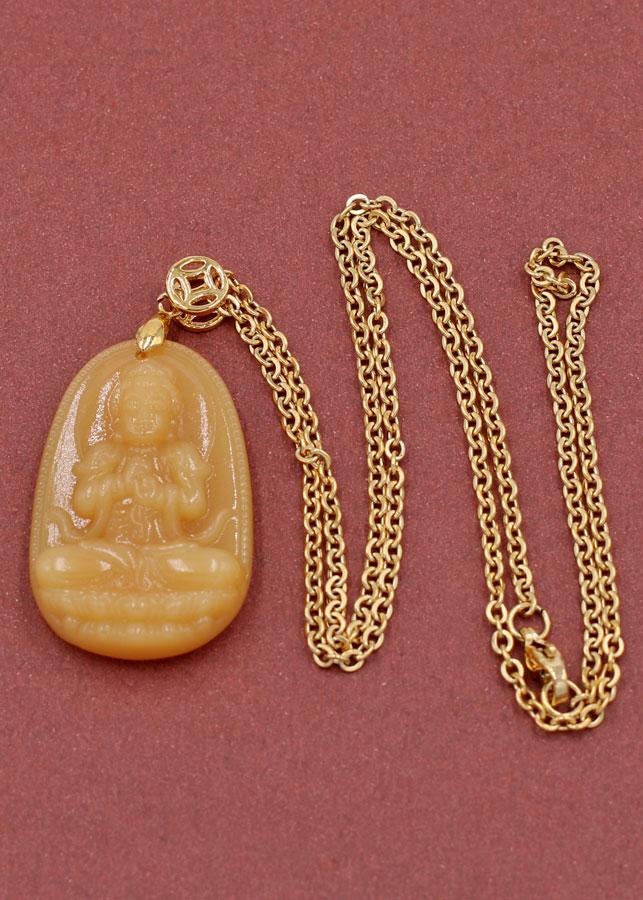 Vòng cổ Đại nhật như lai thạch anh vàng 3.6 cm DIVTVB5 - Phật bản mệnh cho người tuổi Mùi, Thân - 2170496 , 3573932766117 , 62_13908252 , 340000 , Vong-co-Dai-nhat-nhu-lai-thach-anh-vang-3.6-cm-DIVTVB5-Phat-ban-menh-cho-nguoi-tuoi-Mui-Than-62_13908252 , tiki.vn , Vòng cổ Đại nhật như lai thạch anh vàng 3.6 cm DIVTVB5 - Phật bản mệnh cho người tuổ