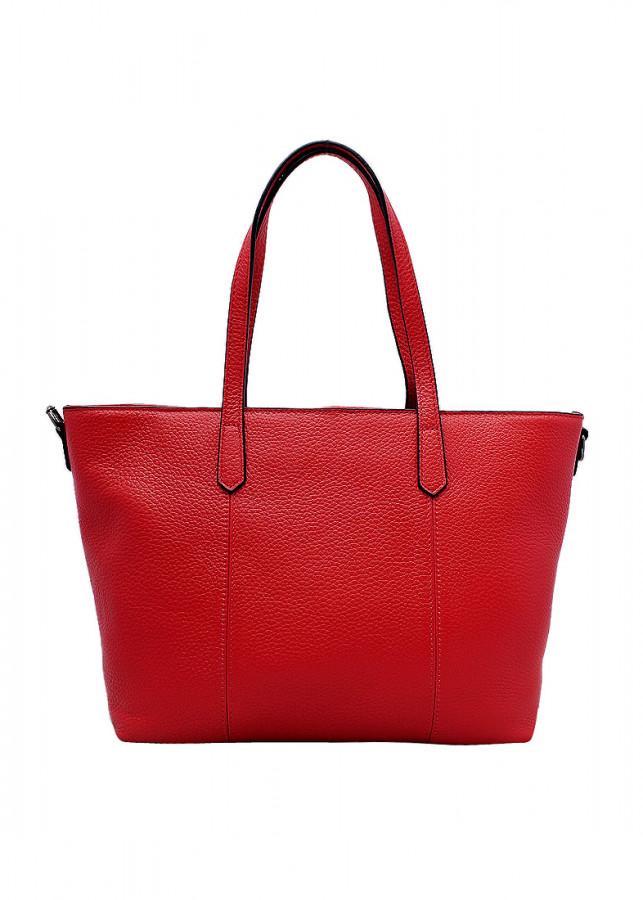 Túi xách tay nữ da bò thật màu đỏ ET646