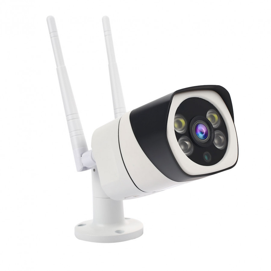 Wireless HD Camera WIFI IP Camera Waterproof Color Night Vision Dual Light Outdoor P2P