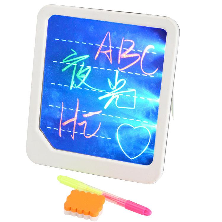 Bảng viết huỳnh quang điện tử thông minh LED (màu ngẫu nhiên)