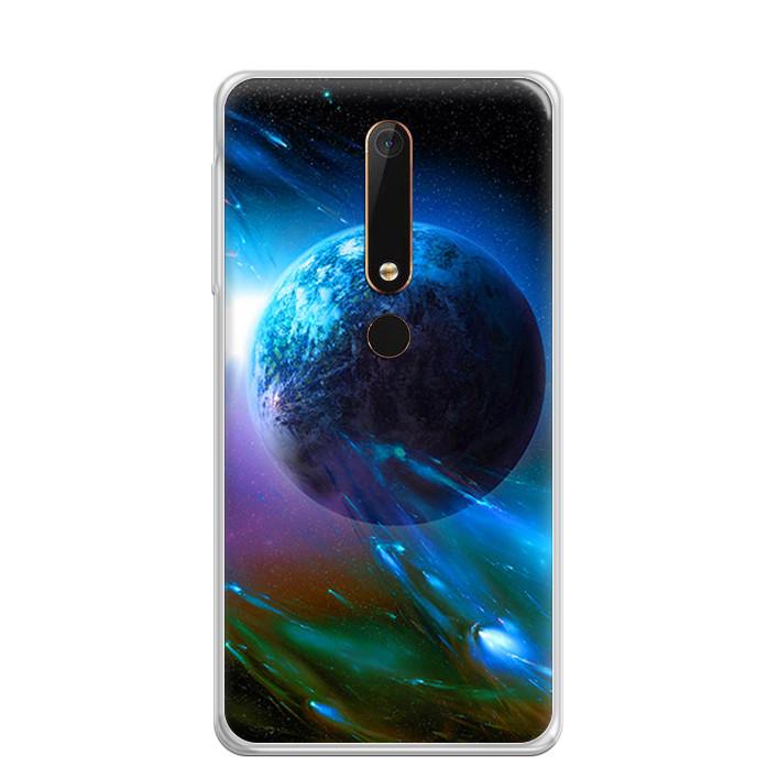 Ốp Lưng Dẻo Cho Điện Thoại Nokia 6 2018 - 0290 UNIVERSE