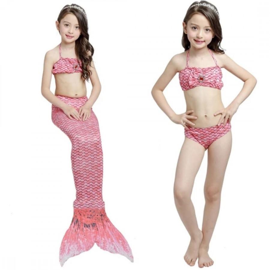 Đồ Bơi Bé Gái Bikini Tiên Cá Màu Hồng Kèm Chân Vịt Nhựa - 2299455 , 7086425057389 , 62_14788383 , 350000 , Do-Boi-Be-Gai-Bikini-Tien-Ca-Mau-Hong-Kem-Chan-Vit-Nhua-62_14788383 , tiki.vn , Đồ Bơi Bé Gái Bikini Tiên Cá Màu Hồng Kèm Chân Vịt Nhựa