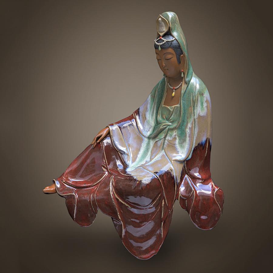 Tượng Quan Âm Tự Tại Men Xanh (44 cm) - 1534701 , 8413235564193 , 62_8715028 , 5027000 , Tuong-Quan-Am-Tu-Tai-Men-Xanh-44-cm-62_8715028 , tiki.vn , Tượng Quan Âm Tự Tại Men Xanh (44 cm)