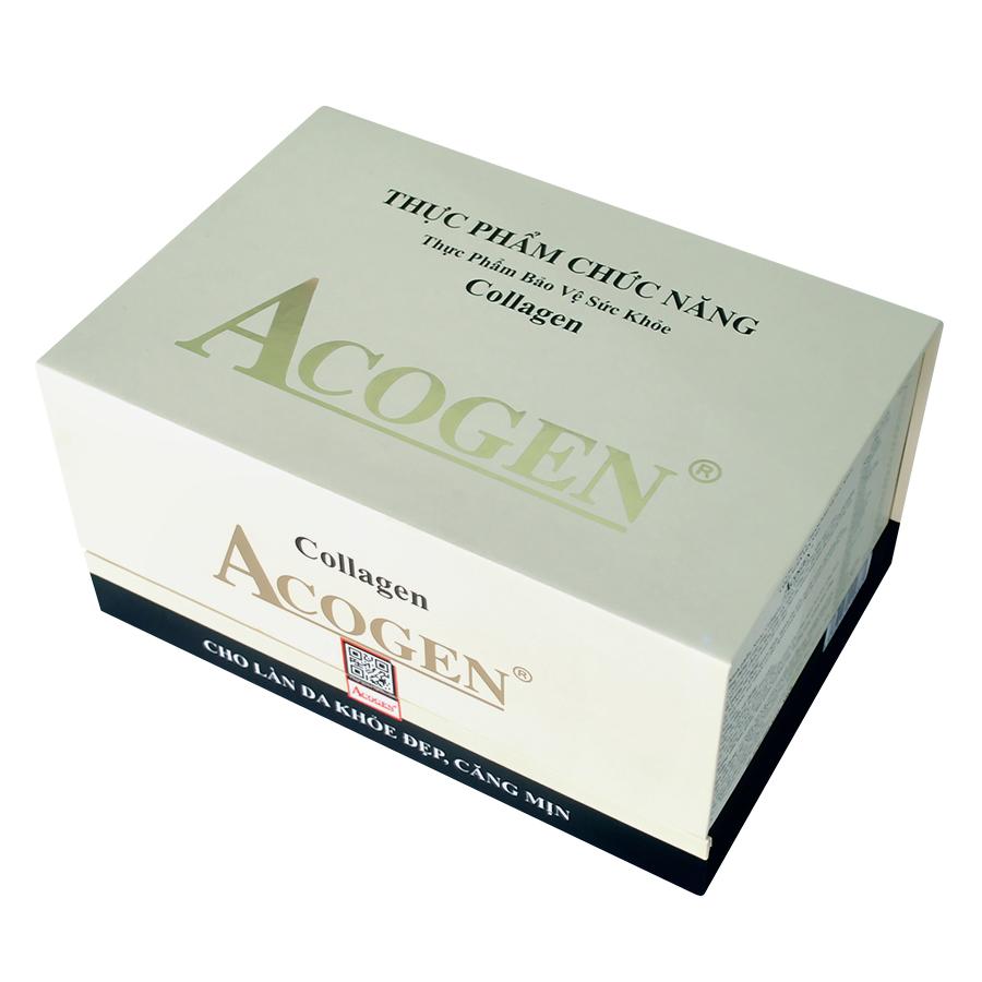 Nước Collagen Yến Sào Acogen Yến Sào Cung Đình (15 Chai x 55ml / Hộp)