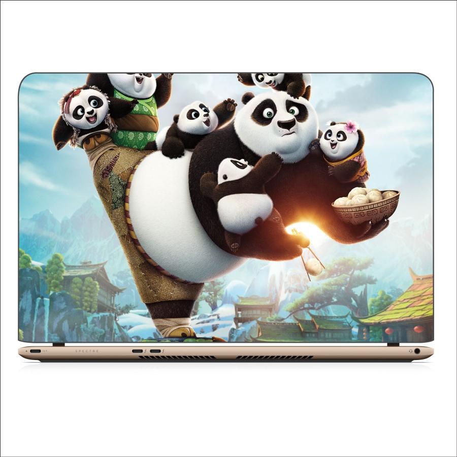 Miếng Dán Skin In Decal Dành Cho Laptop - Kungfu Panda 3 - Mã 061118
