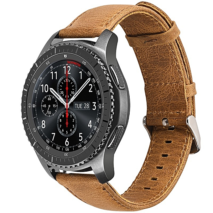 Dây da Size 22 cho Gear S3, Galaxy Watch 46 Hoco