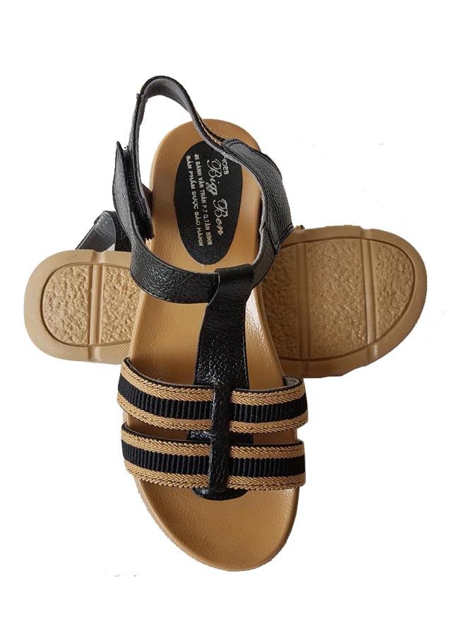 Sandal Nữ BIGGBEN Da Bò Thật Cao Cấp SDN02