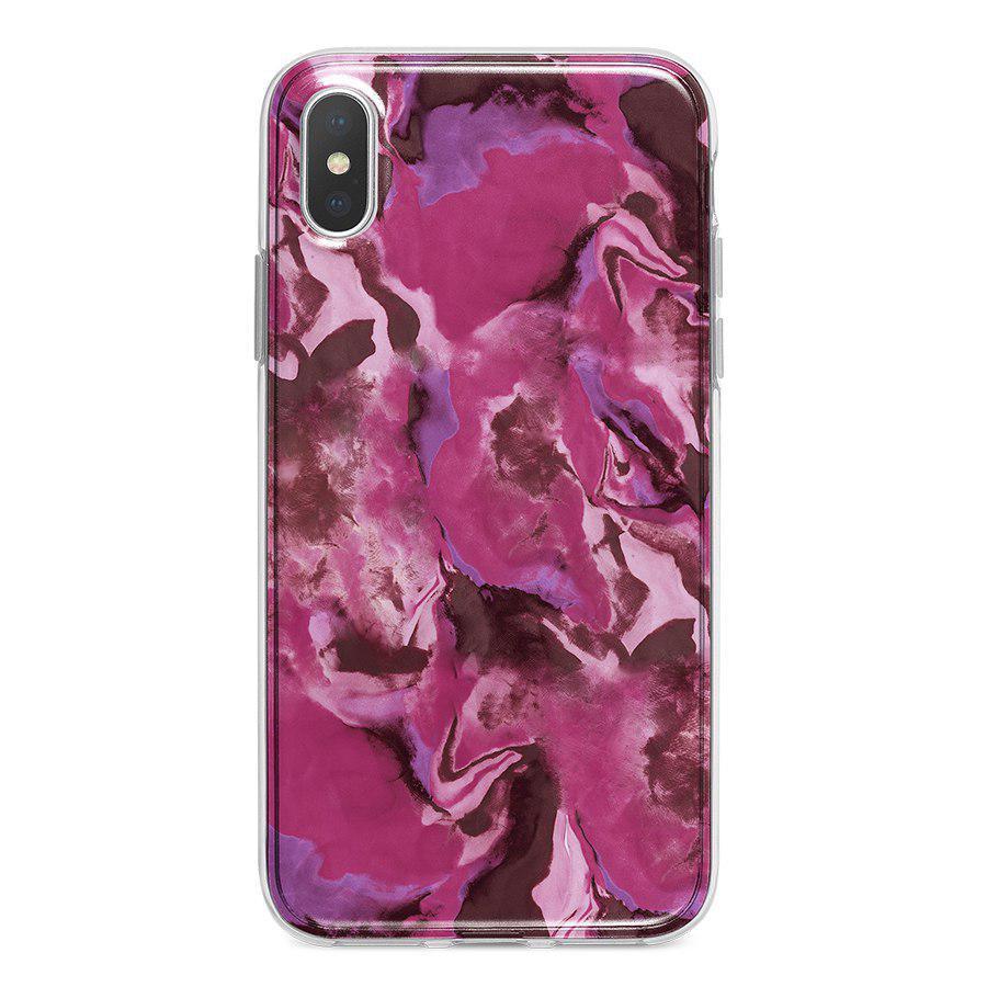 Ốp Lưng Điện Thoại Vân Đá Cho iPhone X A-001-013-C-IPX